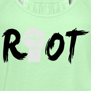 riot T-Shirts - Women's Flowy Tank Top by Bella