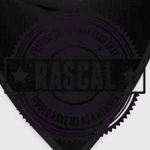 Vintage RASCAL quotes - Not in that club Hoodies - Bandana