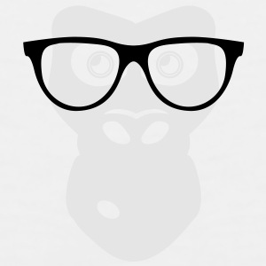 Ape with glasses Accessories - Men's Premium Tank