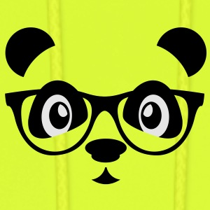 panda with glasses Baby & Toddler Shirts - Men's Hoodie