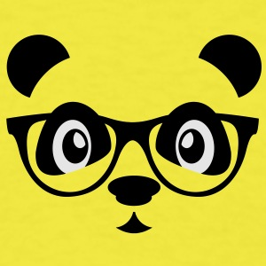 panda with glasses Baby & Toddler Shirts - Men's T-Shirt