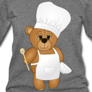 Cute Chef Teddy Bear - Women's Wideneck Sweatshirt
