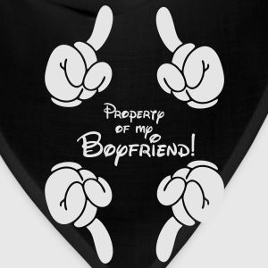 property of my boyfriend Hoodies - Bandana