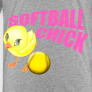 Softball Chick Sweatshirts - Toddler Premium T-Shirt