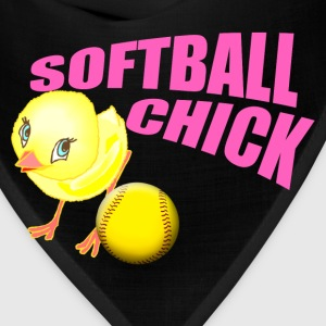 Softball Chick Hoodies - Bandana