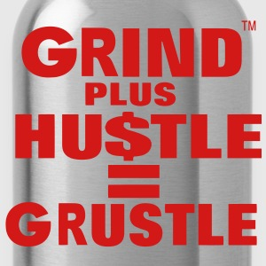 Grind Plus HUSTLE Hoodies - Water Bottle