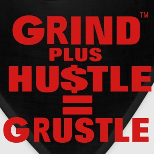 Grind Plus HUSTLE Hoodies - Bandana