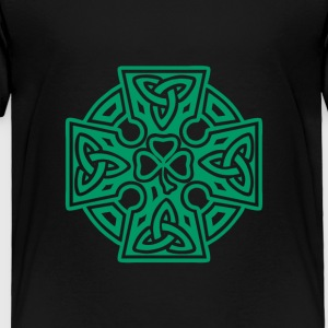 Shamrock celtic cross - Toddler Premium T-Shirt