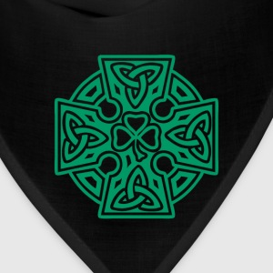 Shamrock celtic cross - Bandana