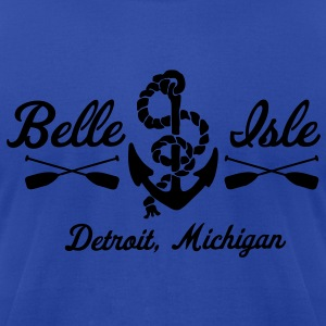 Belle Isle Hoodies - Men's T-Shirt by American Apparel