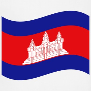 Cambodian / Khmer Flag Wave Accessories - Adjustable Apron