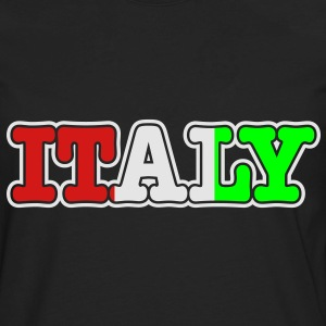 italy Hoodies - Men's Premium Long Sleeve T-Shirt