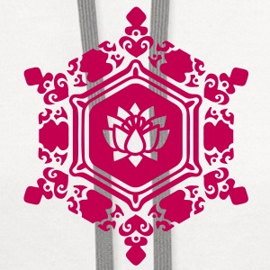 water crystal love with Lotus / Masaru Emoto Tanks - Contrast Hoodie
