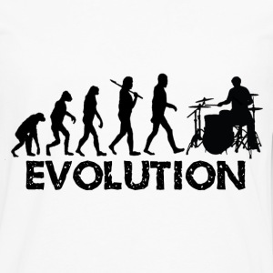 Evolution of a Drummer - Men's Premium Long Sleeve T-Shirt