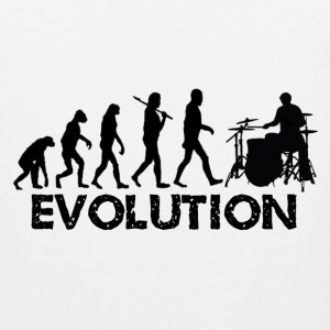Evolution of a Drummer - Men's Premium Tank