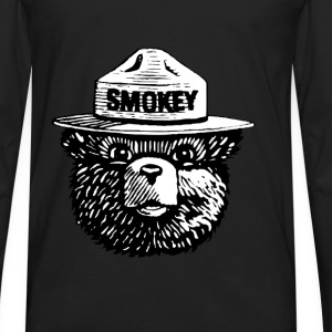 Smokey Bear - Men's Premium Long Sleeve T-Shirt