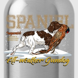 spaniel_allweather T-Shirts - Water Bottle