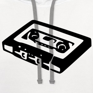 Mix Tape T-Shirts - Contrast Hoodie