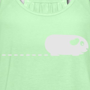 'Pooping Guinea Pig' Mens T-Shirt - Women's Flowy Tank Top by Bella