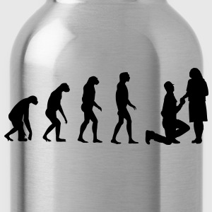 Evolved to Engagement T-Shirts - Water Bottle
