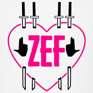 Zef Heart Bandana - Men's T-Shirt
