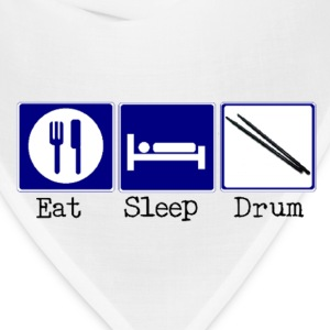 Eat, Sleep, Drum - Bandana