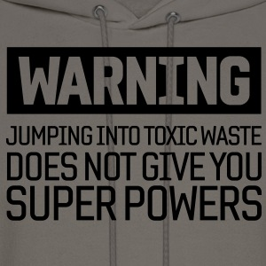 Warning Toxic Waste T-Shirts - Men's Hoodie
