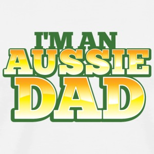 AUSSIE DAD australian father daddy Accessories - Men's Premium T-Shirt
