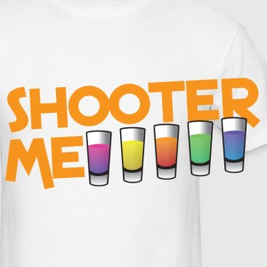 SHOOTER ME many colored cocktail shots Accessories - Men's T-Shirt