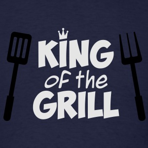 King of the Grill Hoodie - Men's T-Shirt