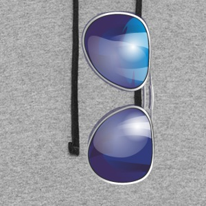 sunglasses T-Shirts - Colorblock Hoodie