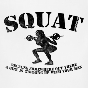 Big Squat T-shirt 2 - Adjustable Apron