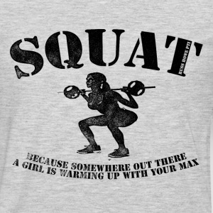 Big Squat T-shirt 2 - Men's Premium Long Sleeve T-Shirt