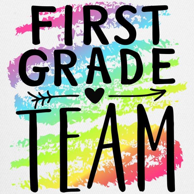 First Grade Team Crayon Splash