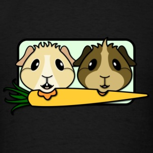 'Pair of Pigs' Ladies Hoodie - Men's T-Shirt
