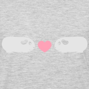 'Piggie Love' Ladies Hoodie  - Men's Premium Long Sleeve T-Shirt