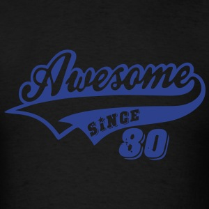 Awesome Since 1980 Hoodies - Men's T-Shirt