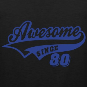 Awesome Since 1980 Hoodies - Men's Premium Tank