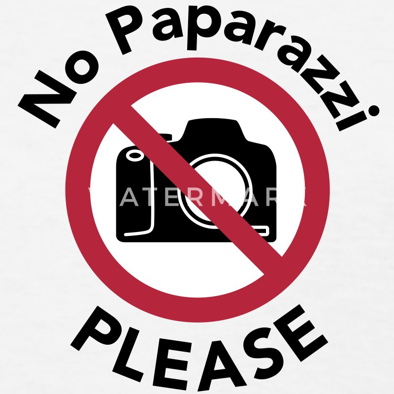 No Paparazzi Please - Women's T-Shirt