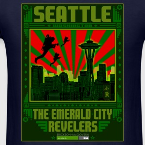The Emerald City Revelers Long Sleeve Shirts - Men's T-Shirt