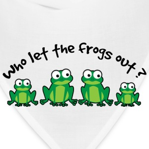 Who Let The Frogs Out? T-Shirts - Bandana