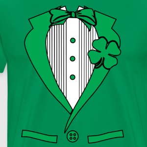 irish suit Hoodies - Men's Premium T-Shirt