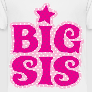 Big Sis DD Kids' Shirts - Toddler Premium T-Shirt