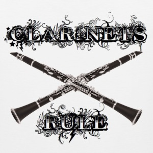 Clarinets Rule - Men's Premium Tank