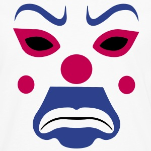 clown joker mask Hoodies - Men's Premium Long Sleeve T-Shirt