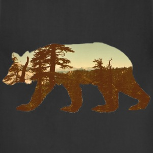 mountain bear tee T-Shirts - Adjustable Apron