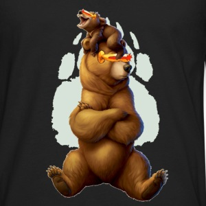 cyclops bear - Men's Premium Long Sleeve T-Shirt
