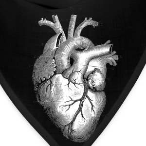 Anatomically correct heart - Bandana