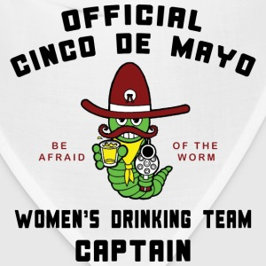 Cinco de Mayo Women's Drinking Team T-Shirt - Bandana