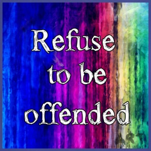 Refuse to be Offended T-Shirts - Adjustable Apron